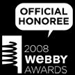 Webby Awards Honoree, 2008
